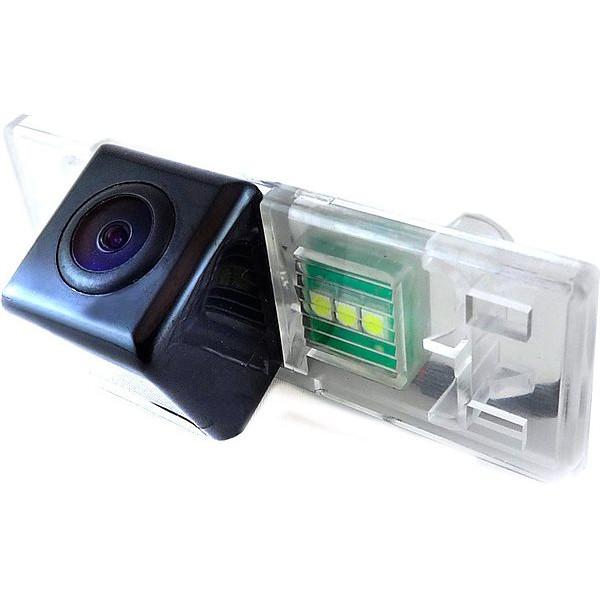 Штатная камера заднего вида Falcon SC67-HCCD. Peugeot 408/508