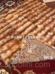Покрывало из натурального меха лисы