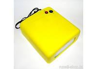 УФ лампа для сушки геля, гель-лака на 36 Вт W-818 (желтая, матовая)
