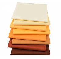 Набор тканей (Ткань) для Пэчворка Желто-коричневые 40x50 см 8 шт, фото 1
