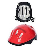 Защитный шлем красный