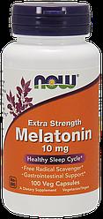 Витамины NOW Foods Melatonin 10mg 100 caps