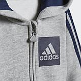 Флисовый спортивный костюм 3-Stripes Hooded, фото 6
