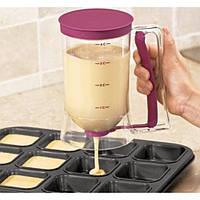 Прибор для приготовления теста для блинов butter dispenser