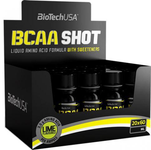 Аминокислоты BioTech USA BCAA Shot 20Х60 ml