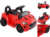 Детский электромобиль аккумуляторный Jaguar C 1824-R, красный