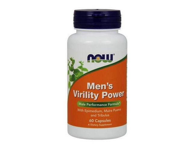 Тестостероновый бустер NOW Foods Mens Virility Power 60 caps