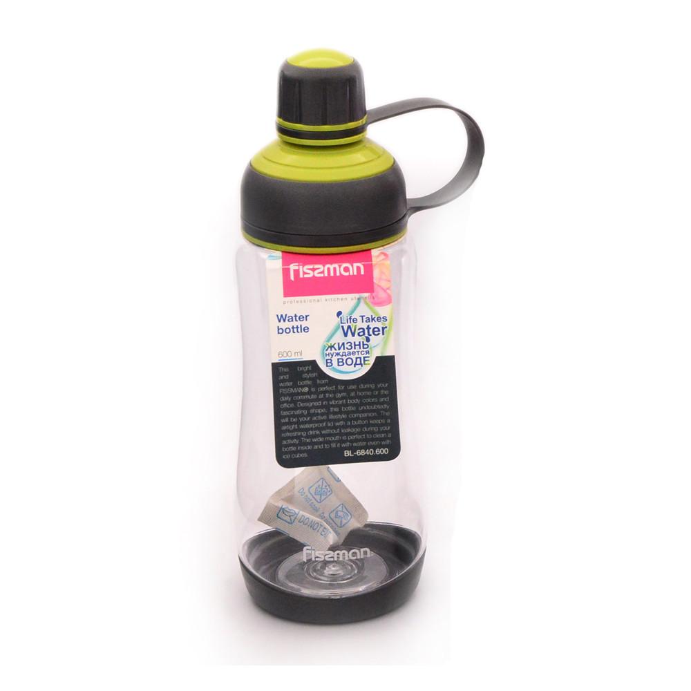 Бутылка для воды 8х26см/1000мл из пластика Fissman