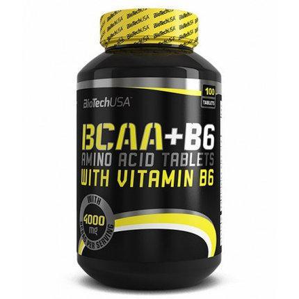 Аминокислота BioTech USA BCAA + B6 100 tabs
