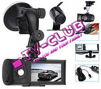 Автомобильный видеорегистратор Vehicle Blackbox DVR