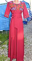 """Плаття вишиванка """"Мілана"""" червоне"""