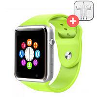 Смарт часы Smart Watch A1. Зеленый. Green, фото 1