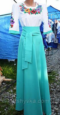 Шикарне плаття вишиванка