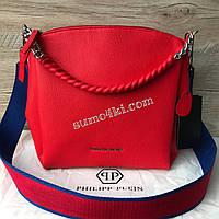 Женская крутая сумка Philipp Plein Филипп Плейн, фото 1