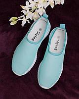 Женские кроссовки без шнуровки
