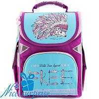 Каркасный рюкзак для девочки Gopack GO18-5001S-2 (1-4 класс)