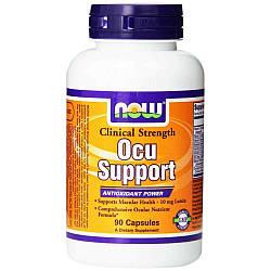 Здоровье зрения NOW Foods Ocu Support 90 caps