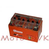 Гелевый аккумулятор  12v7a  клем коробка YTX7A-BS(GEL)  MotoTech