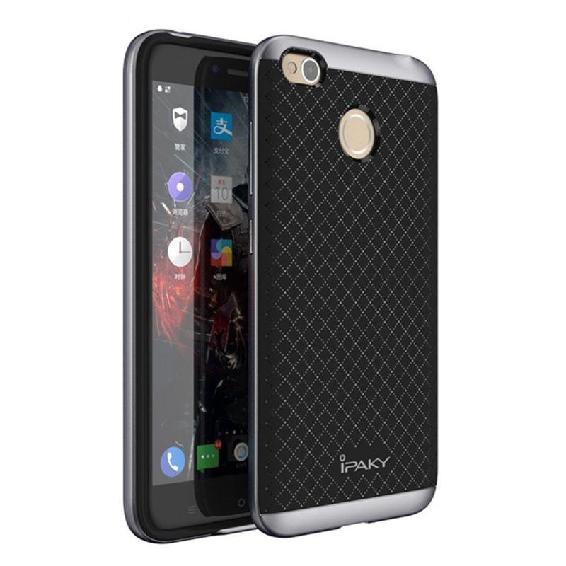 Чехол Ipaky для Xiaomi Redmi 4X бампер оригинальный gray