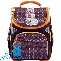 Каркасный рюкзак для девочки GoPack GO18-5001S-4 (1-4 класс)
