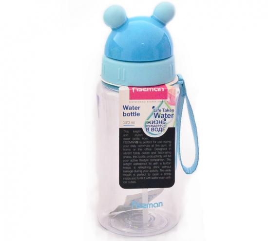 Бутылка для воды 7х19см/370мл из пластика Fissman