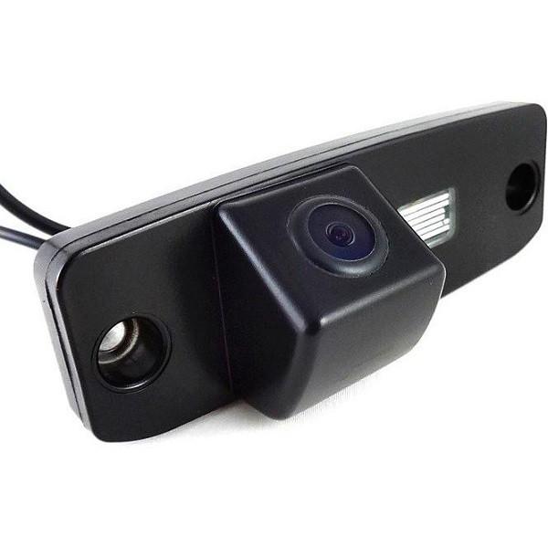Штатная камера заднего вида Falcon SC98-HCCD. Hyundai Accent 2006-2010/Elantra 2006-2010/Sonata YF, LF