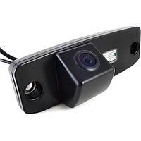 Штатная камера заднего вида Falcon SC98-HCCD. Hyundai Accent 2006-2010/Elantra 2006-2010/Sonata YF, LF, фото 1