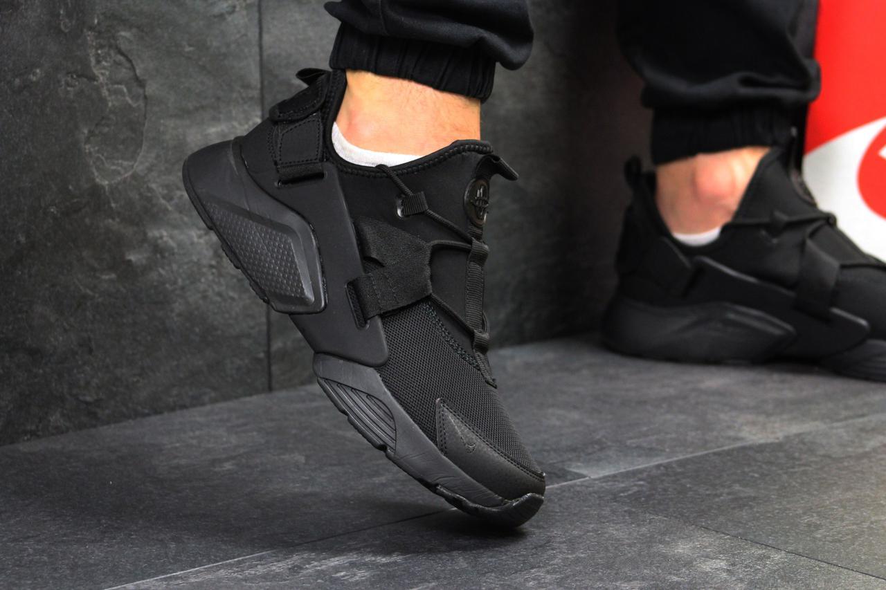 98c8754d Мужские кроссовки Nike Air huarachi черные (Реплика ААА+) - bonny-style в