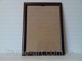 Рамка 16х28,5см  205,15,ккр коричневый круглый