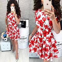 Новинка! Летние коктейльные платья невероятных разнообразных расцветок!!!!