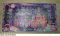Замок для кукол с набором мебели  куклами 96,5*12,5*51,5