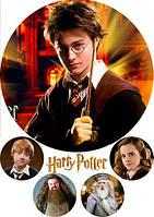 "Картинка вафельная А4 "" Гарри Поттер 6"" , фото 1"