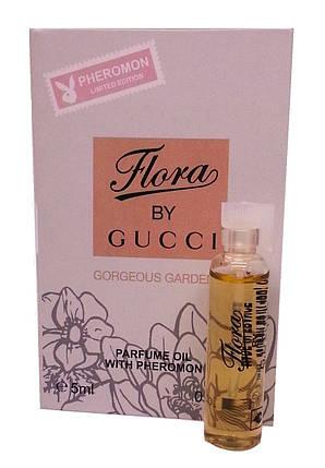 Gucci Flora Gorgeous Gardenia - Parfume Oil with pheromon 5ml, фото 2