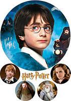 "Картинка вафельная А4 ""Гарри Поттер 7"" , фото 1"