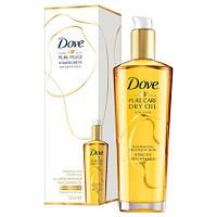 Dove Haarpflege Pure Pflege Schwereloses Öl - Масло для ухода за волосами