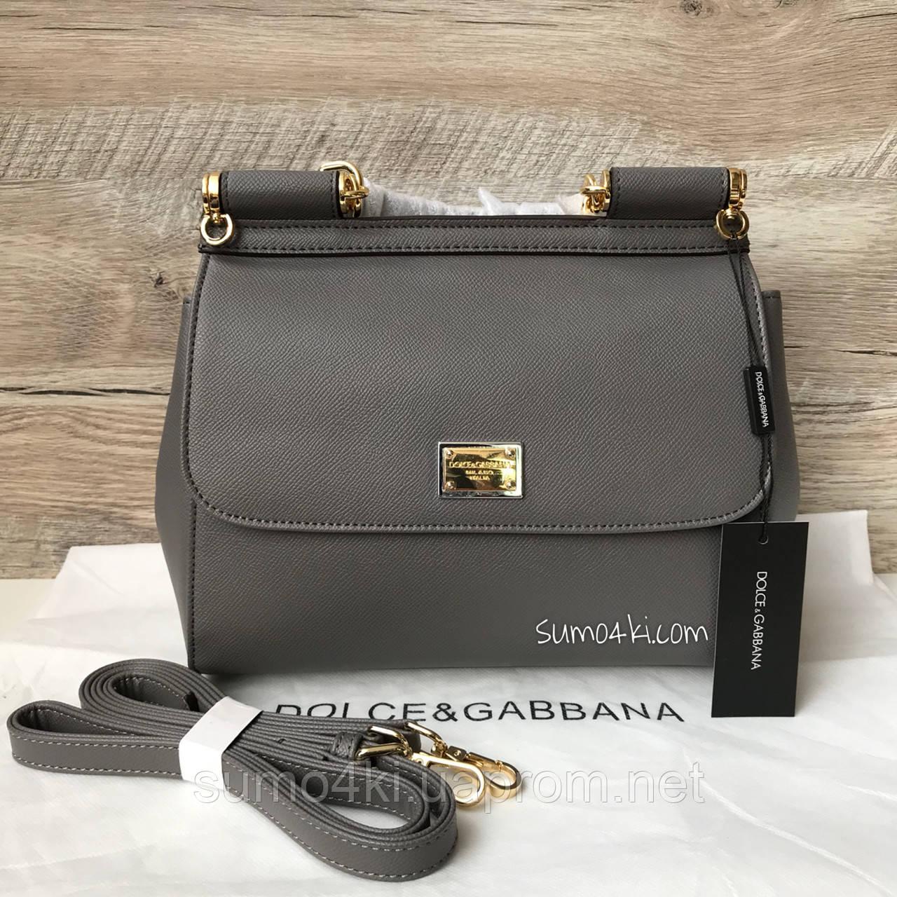 fb868dba6d3f Женская сумка Dolce & Gabbana Miss Sicily mini D&G - Интернет-магазин  «Галерея Сумок