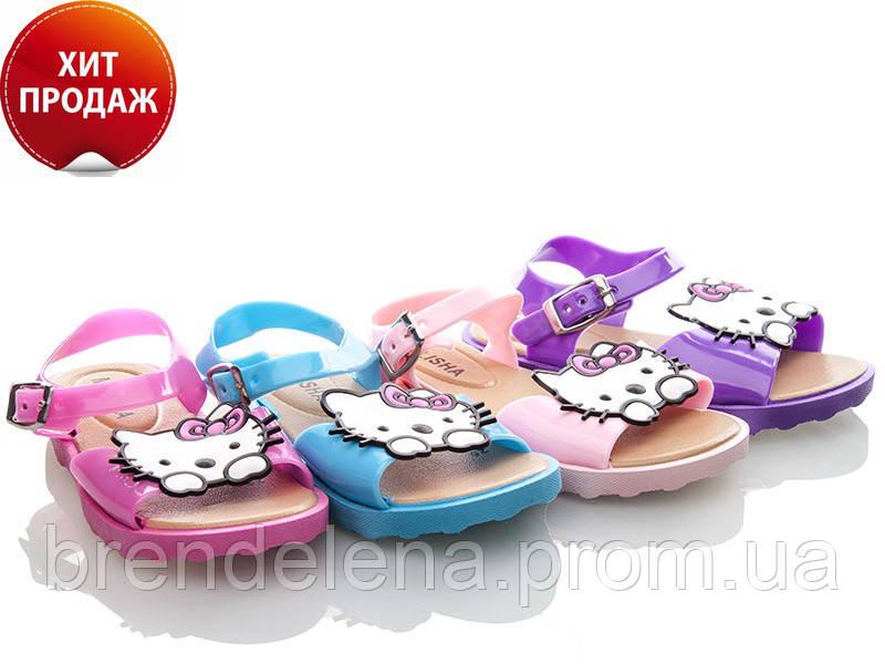 Яскраві гелеві босоніжки для дівчинки р(24-29)маломірки.