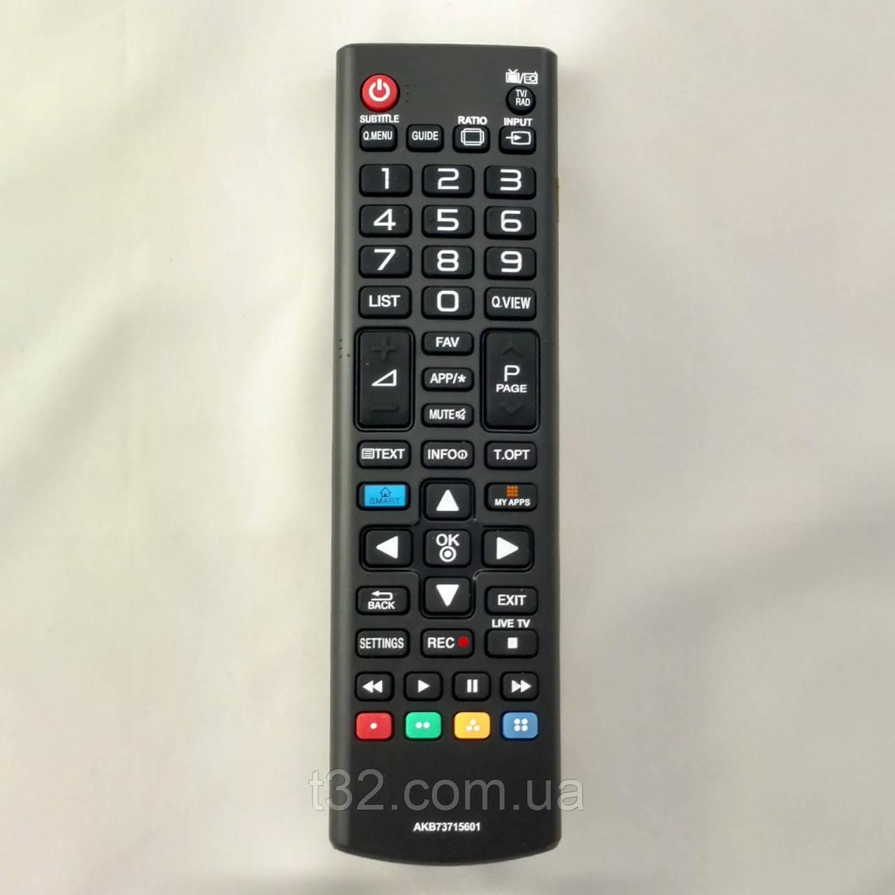Пульт LG Smart TV AKB73715601 [TV] [09/185]