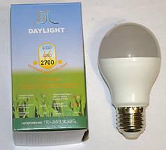 Светодиодная LED лампа Daylight А 60 8W 2700К теплый свет