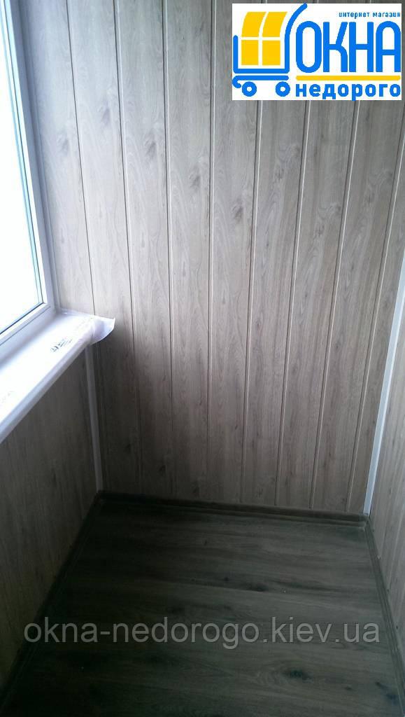 Балкон под ключ Васильков - фото работы Окна Недорого