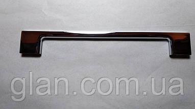 Ручка меблева UZ819-128 хром, фото 2