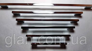 Ручка меблева UZ819-128 хром, фото 3