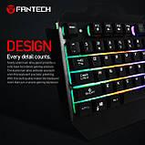 Клавіатура з LED підсвічуванням Fantech Zexter K610 Black (K610b), USB, фото 2