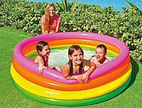 """Надувной бассейн """"Радуга"""" Intex 56441 (168-46см)"""