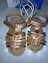 Мигалки с USB! Детские босоножки Led cо светящейся подошвой на девочку, Размеры 24 27 Супер Хит!, фото 2
