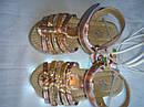 Мигалки с USB! Детские босоножки Led cо светящейся подошвой на девочку, Размеры 24 27 Супер Хит!, фото 4