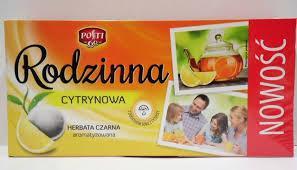 Чай Rodzinna (Родзина) с лимоном 104 пакета