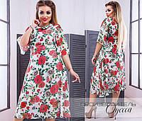 Женское платье Розовый букет, фото 1