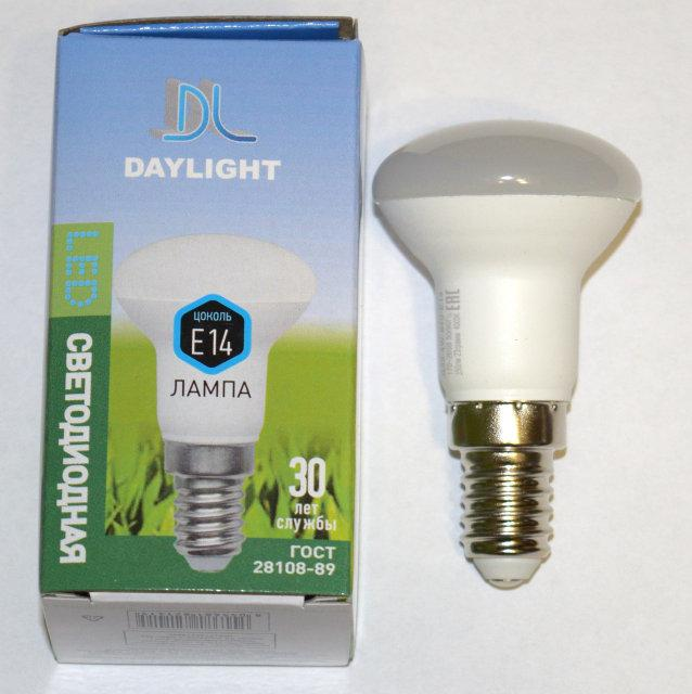 Светодиодная LED лампа Daylight R39 4W E14 4000К