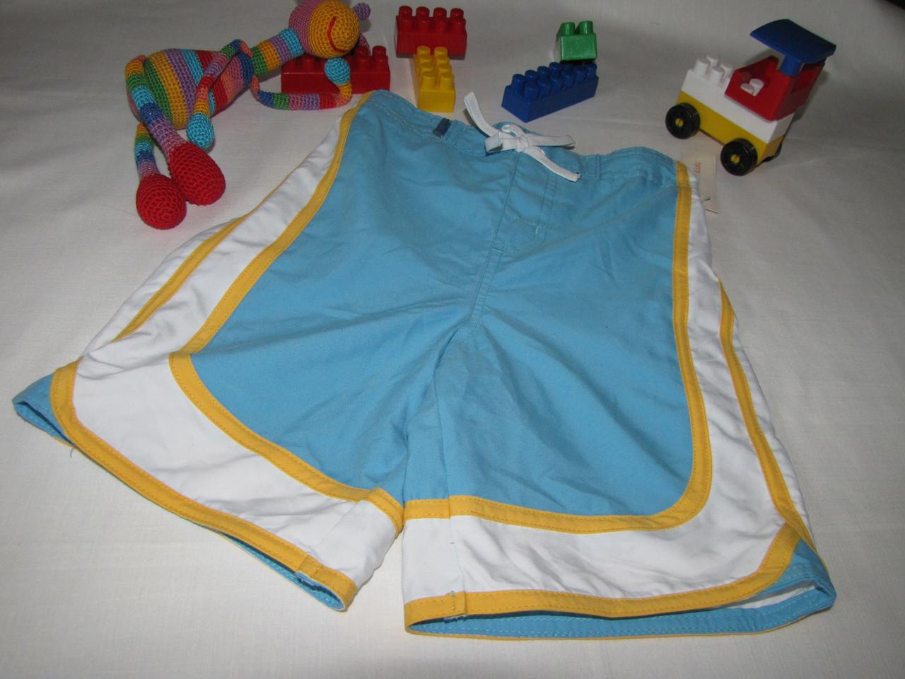 Шорты плавательные Wonder Kids оригинал рост 104 см голубые 07176